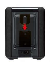 Vebos portable support mural Yamaha Musiccast WX 010 noir
